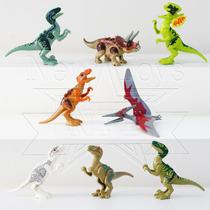 Jurassic World - Indominus Rex, T Rex - 8 Dinossauros