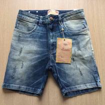 Bermuda Jeans Missbella Feminina