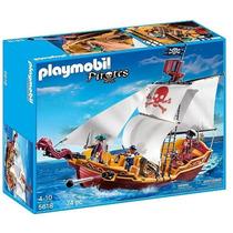 Playmobil - Navio De Ataque Pirata Red Serpent Cod: 5618