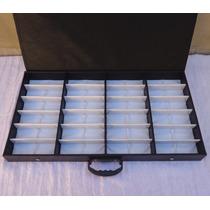 Expositor Organizador Maleta Caixa Estojo Porta 24 Óculos