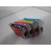 Kit 4 Cartuchos Recarregáveis Cx5600 / C92 / Cx8300