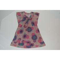 Vestido Rosê Estampado - Hering - Tam. 12