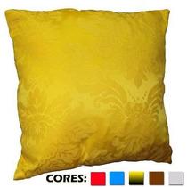 Almofada Decorativa Jacquard Estampada 50 X 50 Várias Cores