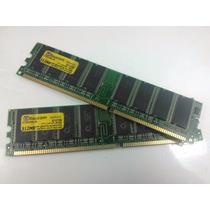 04 Memorias Desktop Itaucom 2gb Ddr1 333 - 4 Pentes 512mb