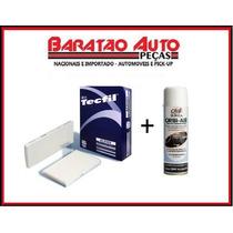 Kit Filtro Ar Condicionado + Higienizador Fiesta 1.6 .11/...