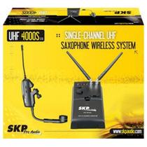 Transmissor Sem Fio P/ Sax Skp Uhf4000s - Ac0847