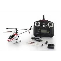 Mini Helicóptero V911 Completo Com Gyro 4 Ch Wl Toys V 911