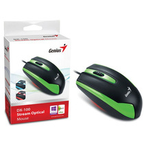Mouse Genius 31010009106 Dx-100 Usb Verde