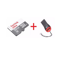 Cartão Micro Sd Ultra 32gb Classe 10 48mb+ Leitor Usb Gratis