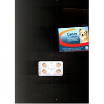 Vermifugo Canex Comprimido Caes E Gato , Com 4 Comprimido