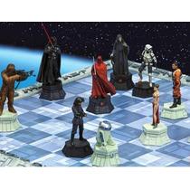 Xadrez Star Wars Completo (64 Peças) + Tabuleiro + Revistas