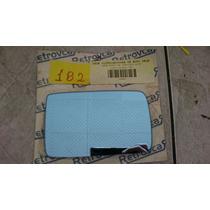 Lente Retrovisor Uno Largo 91/00 Azul D/e