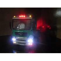 Miniatura Cavalo Mecanico Caminhão Man Tg510a Truck 1/32