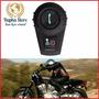 Intercomunicador 2 Capacete Moto Bluetooth Fone Gps Mp3