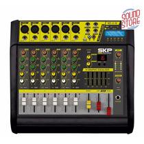 Mesa Amplificada Skp Vz60-2 Mp3/grava No Pendrive 200+200w