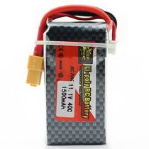 Bateria Lipo 11,1v 3s 40c 1500mah Zop Power