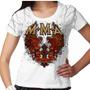 Camiseta Mma Snake Feminina