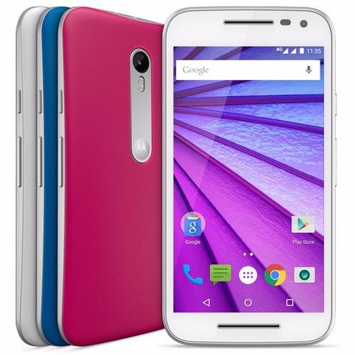 Motorola Novo Moto G3 3ª Geração 16gb 4g + Brindes 100% Orig