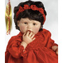 Scarlette Boneca Natal Parece Real Tipo Adora Dolls E Reborn