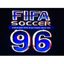 Fita Cartucho Snes Super Nintendo Futebol Fifa Soccer 96