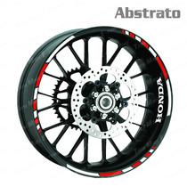 Adesivo Friso Moto Honda Abstrato Frete Grátis Personalizado