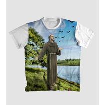 Camiseta São Francisco De Assis Religiosa Católica