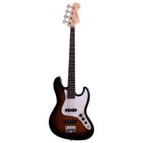 Baixo 4 Cordas Deluxe Jazz Bass Njb Dl Sunburst Nolan 3918