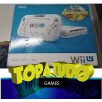 Nintendo Wii U Branco Basic Loja Em Bh No Centro Maleta!!!!!