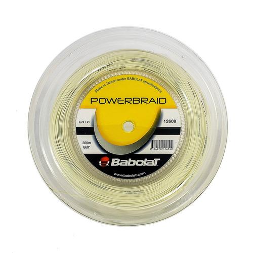 Corda Powerbraid Badminton Branca
