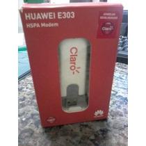 Mini Modem Huawe E303 3g Desbloqueado Nacional Anatel Barato