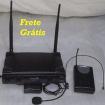 Lyco Microfone Sem Fio Uhf Auricular Voz Instrumentos Heads