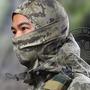 Balaclava Tática Camuflada Militar Touca Ninja Airsoft