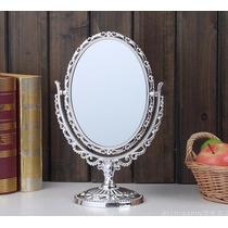 2 Un.espelho Mesa Provençal Princesas Aumento 5x Em Um Lado