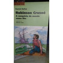 Livro Robinson Crusoé A Conquista Do Mundo Numa Ilha