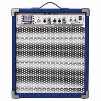 Caixa De Som Amplificada Multiuso Frahm Lc 400 Bt Azul