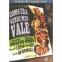 Como Era Verde Meu Vale Dvd Original Fox Classics