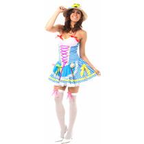 Vestido Festa Junina,roupa Caipira,junino,quadrilha Xadrez