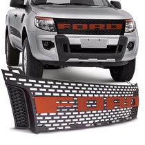 Grade Dianteira Ford Ranger Raptor 2012 13 14 15 16 Vermelha