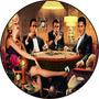 Relógio De Parede Em Vinil Marilyn Monroe,elvis Presley