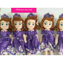 Princesa Sofia Pelucias Kit Com 6