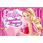 Painel Decorativo Festa Infantil Barbie Sapatilhas (mod7)