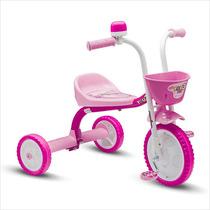 Triciclo Bicicleta Infantil Masculino You 3 Girl Nathor