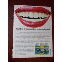 Propaganda Antiga - Cepacol Merrell/ Norton S.a. Indústria E