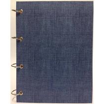 Caderno Universitário Argolado Fichário Azul 192 Fls