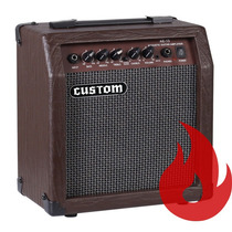 Amw Custom Ae-15 . Cubo Amplificador De Violão . Nf . Loja !