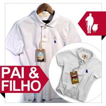 Super Kit Camiseta Pai Filho Tal Pai Tal Filho, Original