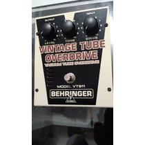 Pedal Behringer Vintage Tube Overdrive Valvulado