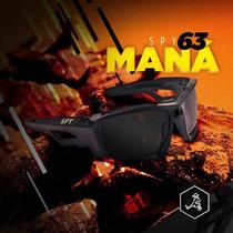 Óculos De Sol Spy - Original - Modelo Maná 63 - Preto