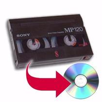 Conversao De Vhs - Vhs C - Hi8 - K7 Disco Para Dvd Ou Hd