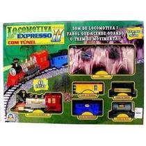 Ferrorama Locomotiva Expresso Túnel 8001 - Frete Grátis!!!